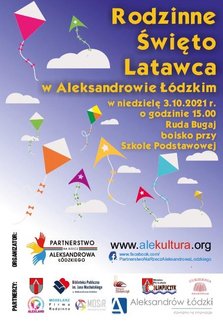 Plakat promujący Rodzinne Święto Latawca